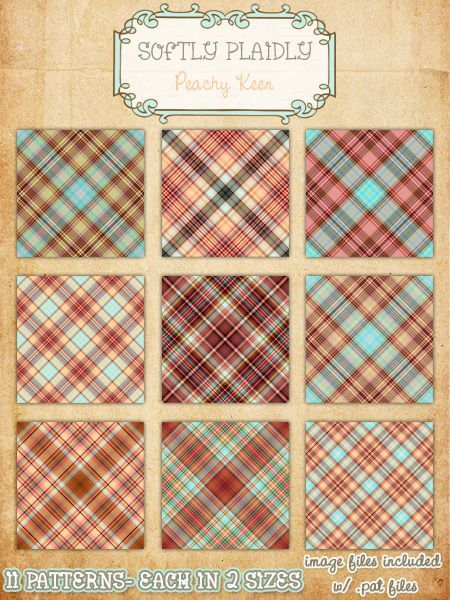 Softly Plaidly- Preview