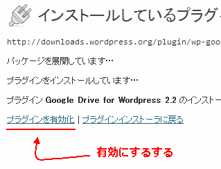 Google drive for WordPress 2