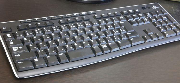 LOGICOOL ワイヤレスキーボード Unifying対応レシーバー採用 K270 使用レポート (1)