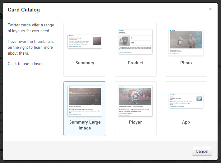 Twitterに記事をつぶやいた時に画像(サムネイル)付きにする方法 Twitter Cardsの活用 (12)