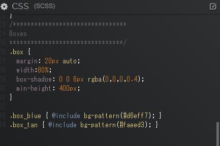 CSSだけで作られたジグザク模様のパターン ~Gradient Zig Zag Pattern SASS Mixin~