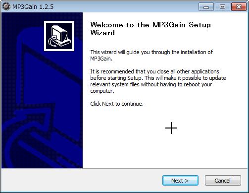 MP3の音楽ファイルの音量を一括で統一するソフトMP3Gainをwindowns7で使う (3)