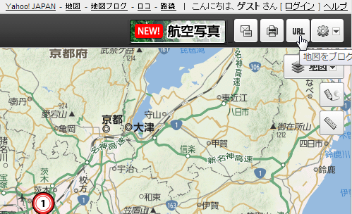 WEBサイトに地図を埋め込めるサービス Yahoo地図、Googleマップ、いつもNAVI、MapFunWebでの使い方 (1)