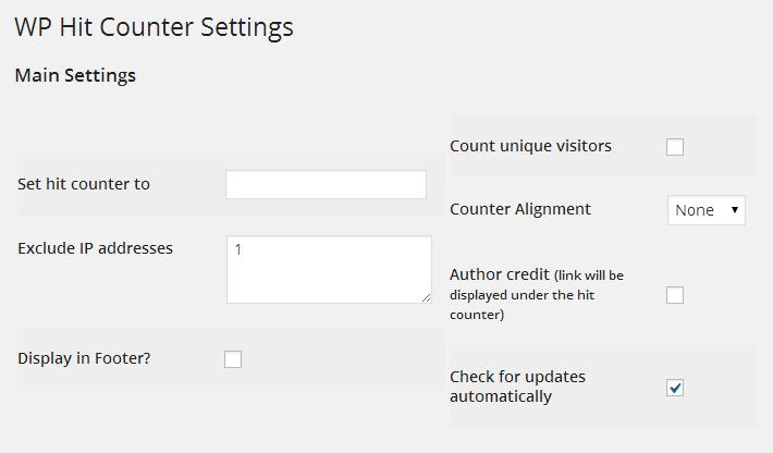 超シンプルWordPressのアクセスカウンタープラグイン ~WP Hit Counter~