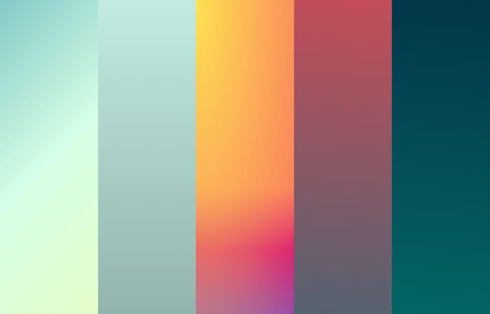 CSSのコピペだけで出来る良質な5つのグラデーション 『Gradients By boltaway』